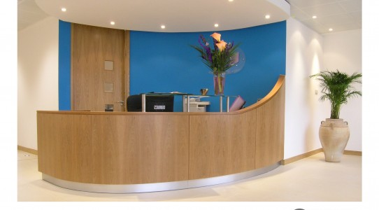 Taylor Clarke Reception Counter