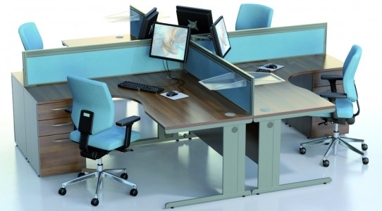Ambus – Corner Desks | harmonyoffice.co.uk